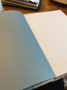 Journal - blank page